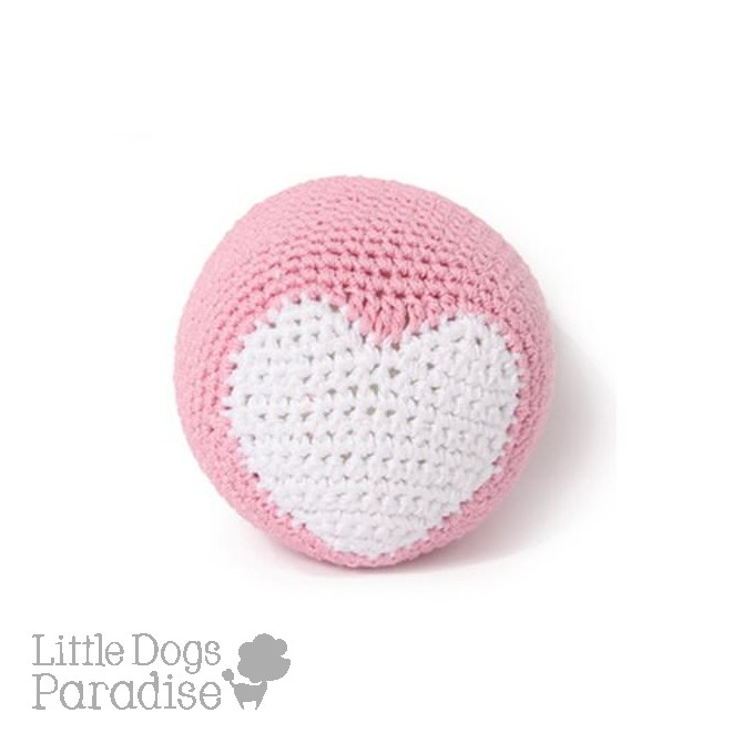 Pink Ball Organic Cotton Crochet