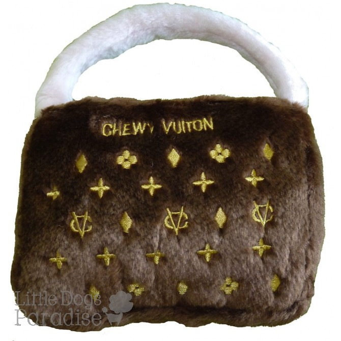 Brown Chewy Vuiton Purse