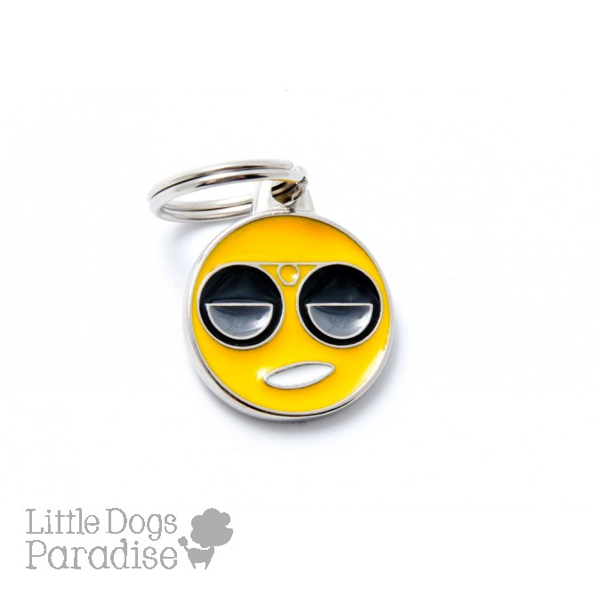 Medaglietta Charms Emoticon Cool