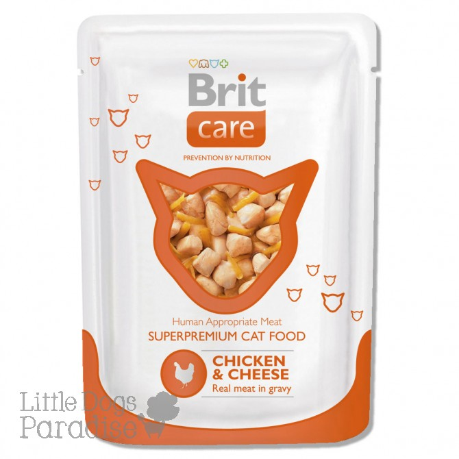 Brit Care Cat Chicken & Cheese Pouch