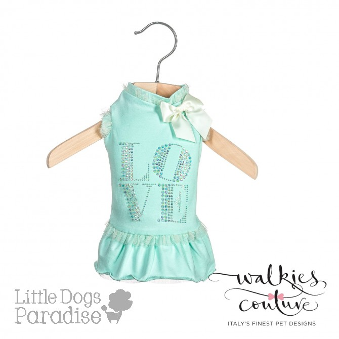 Love Dress - Turchese