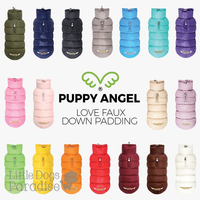 Puppy Angel Love Faux Down