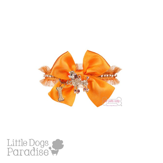 Poodle Club Collar Arancio