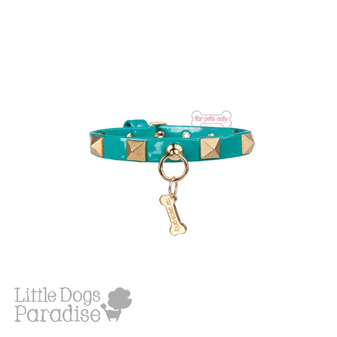 Chic And Stud Collar Teal
