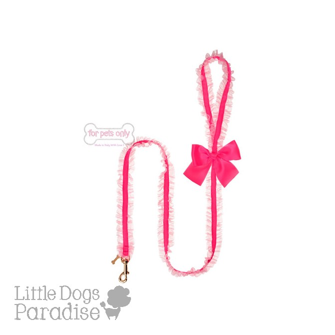 Lingerie Leash Fluo Fuxia