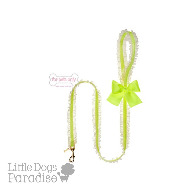 Lingerie Leash Fluo Yellow