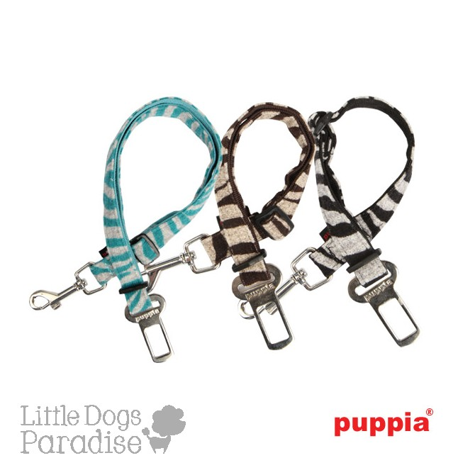 Modern Zebra Dog Seatbelt Lead
