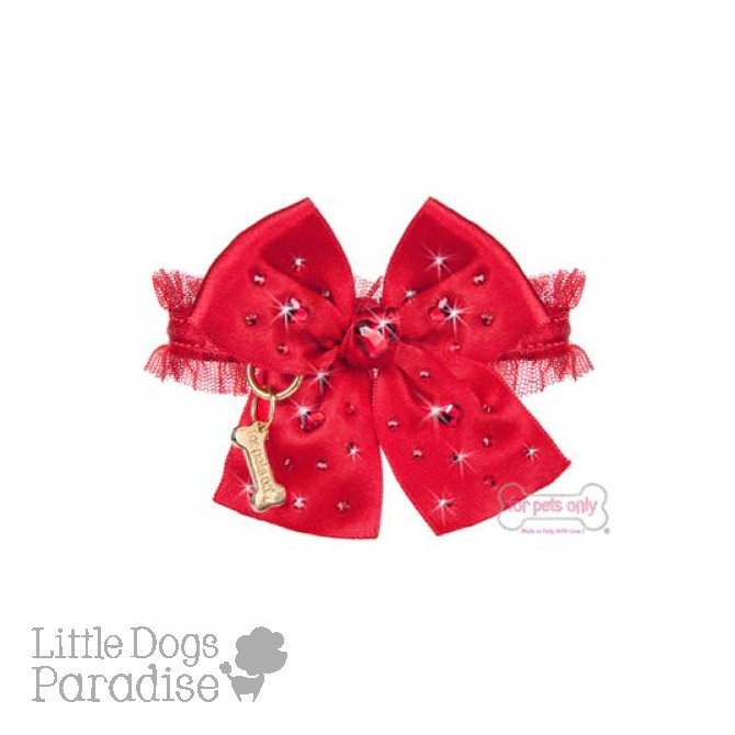 Christmas Hearts Collar