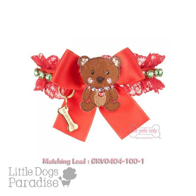 Christmas Bear Collar