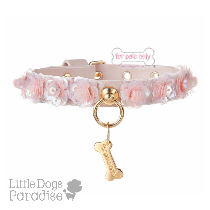 Flowers Of Angels Collar Pink