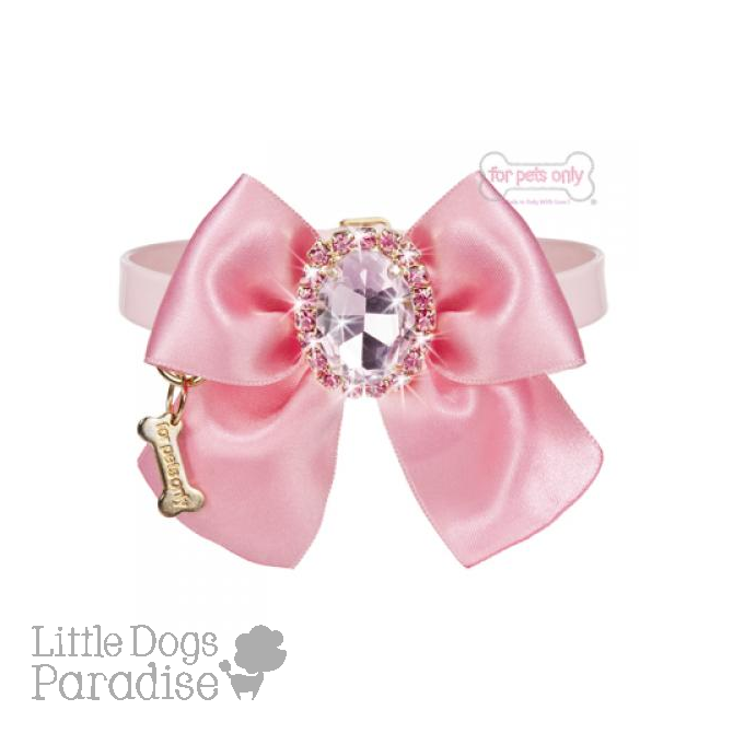 Diamond Love Collar - Rosa