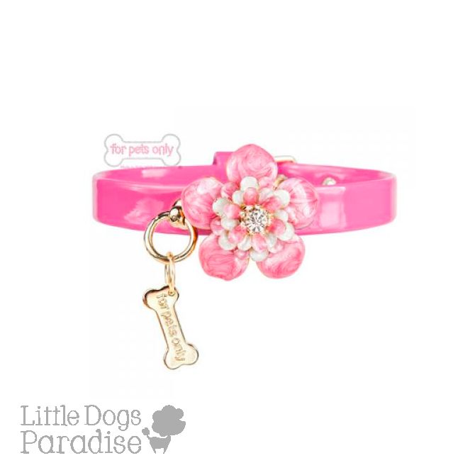 Love Flowers Collar - Rosa