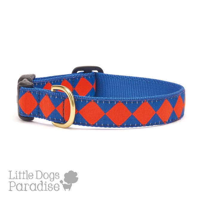 Blue Orange Diamond Collar