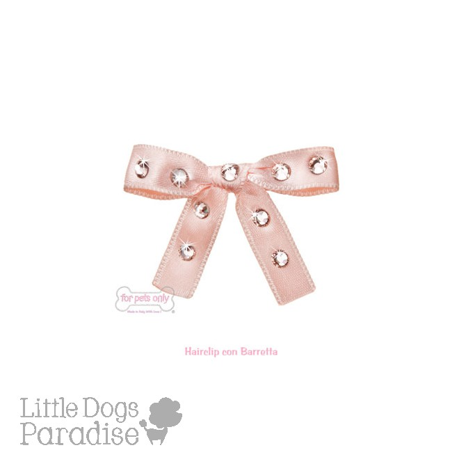 Sparkling Bow - Nude