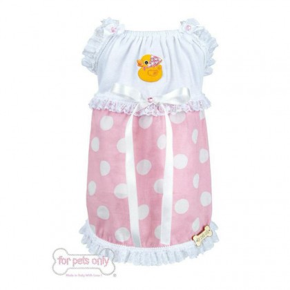 Ducky Dots Pink Dress