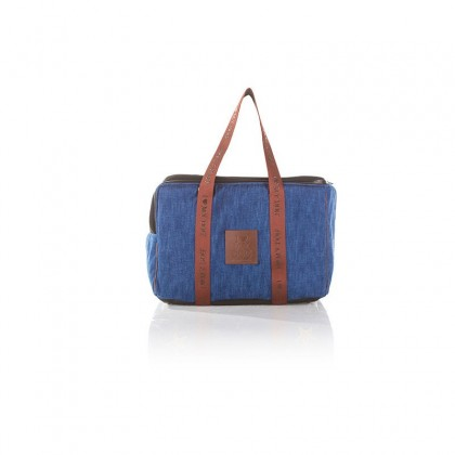 DENIM TRAVEL BAG