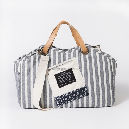 Breezy Tote Bag/Stripes