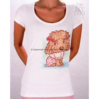 Poodle Women T-Shirt