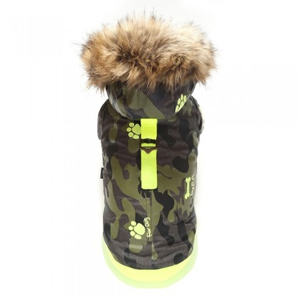 Puppy Angel Army Barmy Zip-up Parka