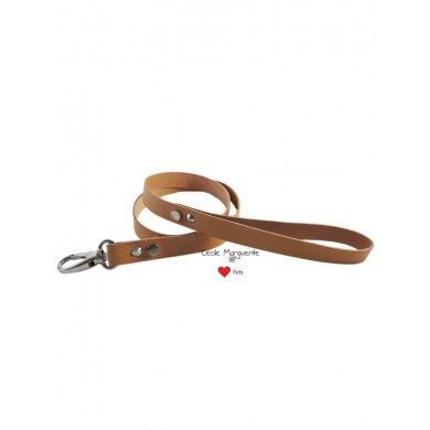 Cowhide Mix Leash