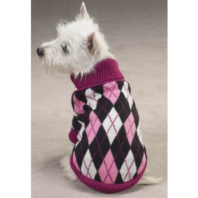 Andover Argyle Sweater