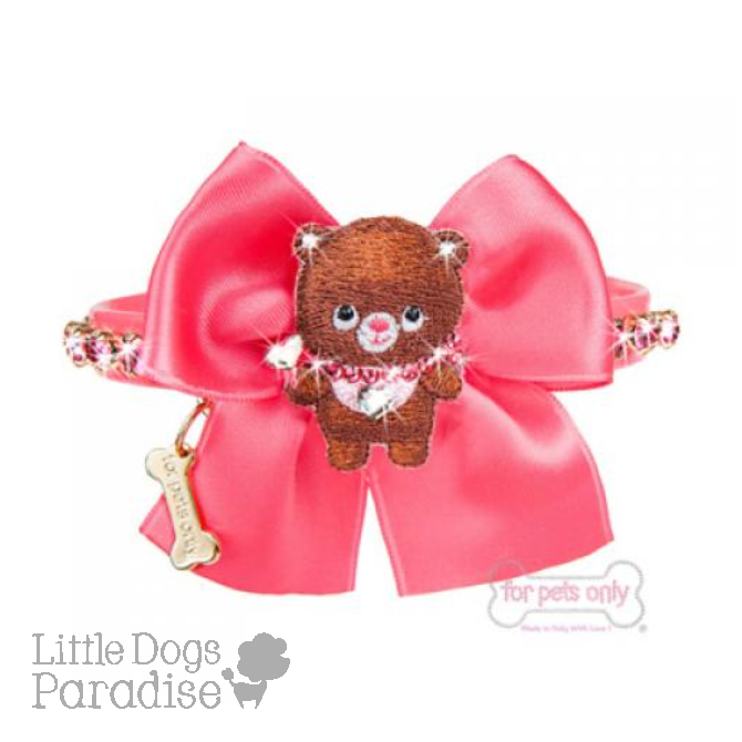 Bubble Bear Love Collar