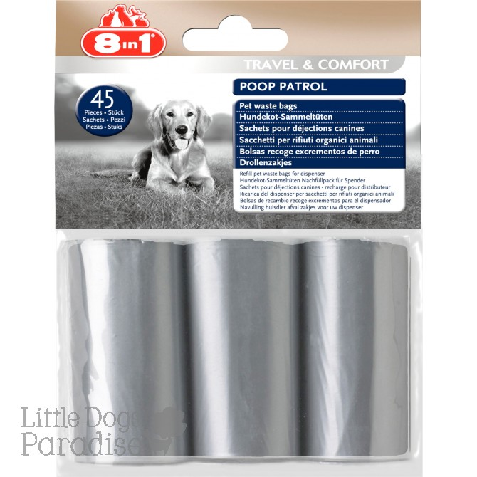 8in1 45 pc Poop Patrol Bags
