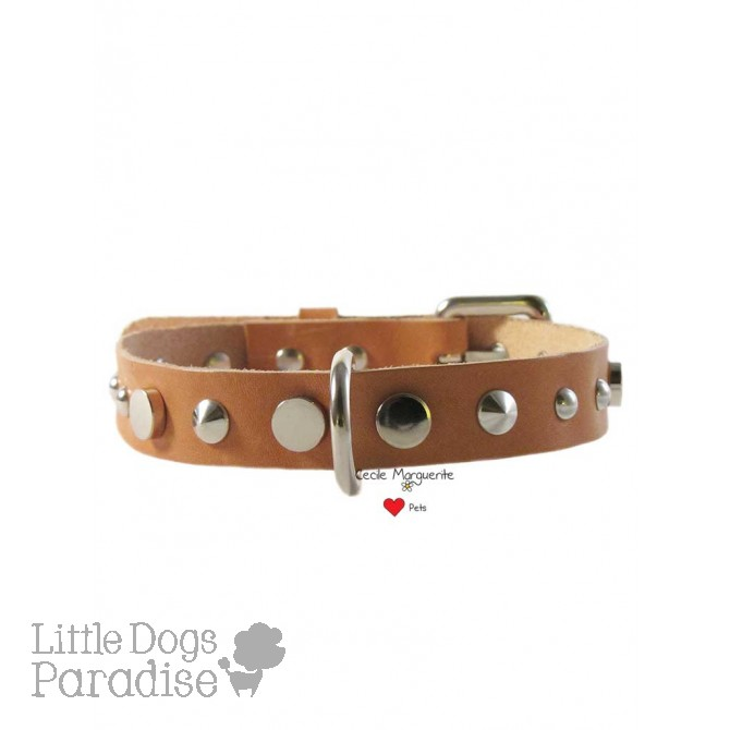 Cowhide Mix Collar