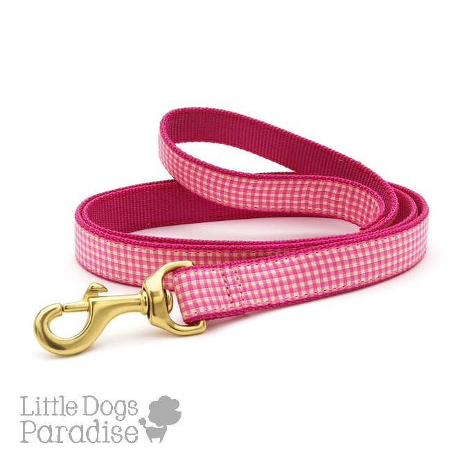 Pink Gingham Lead