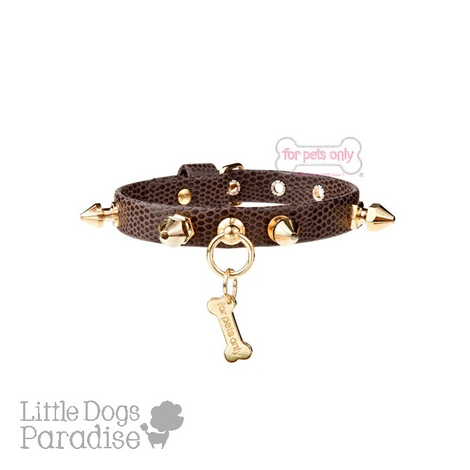 Winter Punk Collar Choco