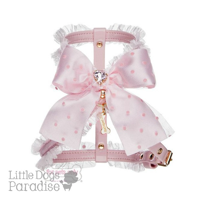 Love Dots Harness - Pink