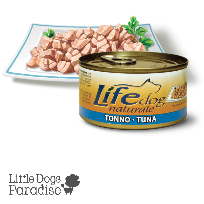 Life Dog Naturale Tonno 170g