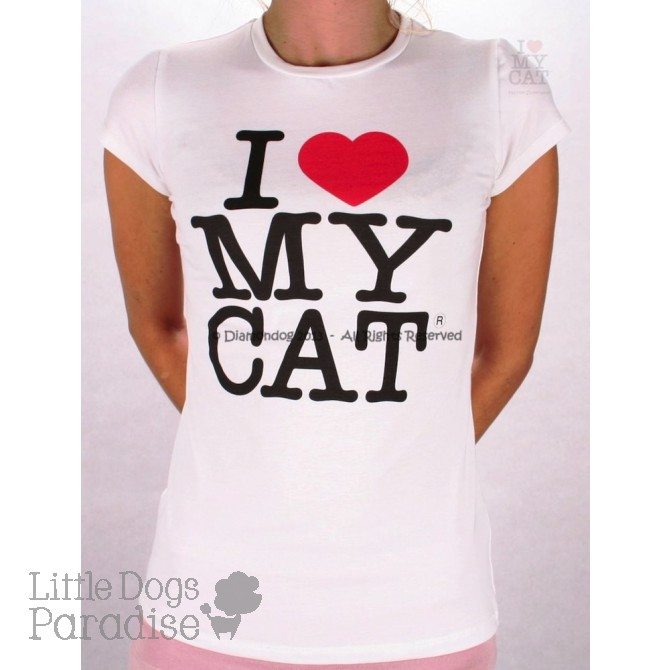 Women Cat Logo T-Shirt