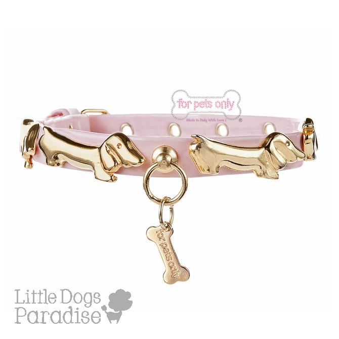 My Bassotto Collar Pink