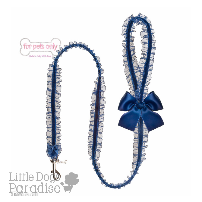 Lingerie Leash Blu