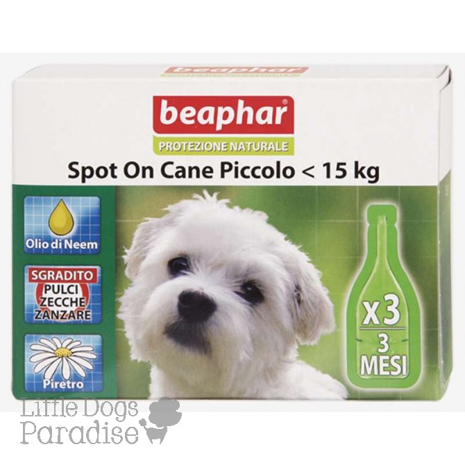 Beaphar Spot On Cane Piccolo <15 Kg