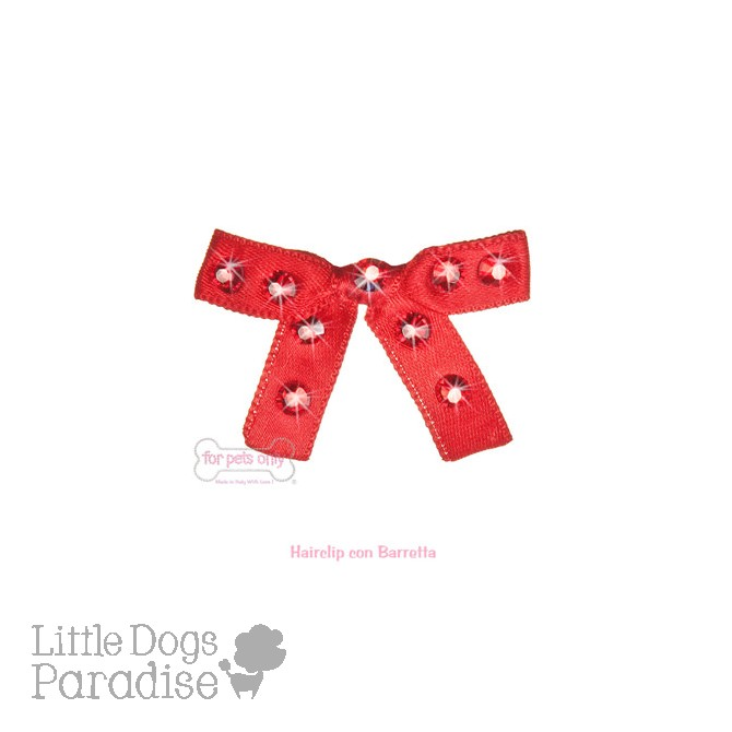 Sparkling Bow - Red