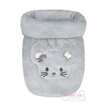 My Cute TopoMio Grey Sleeping Bed