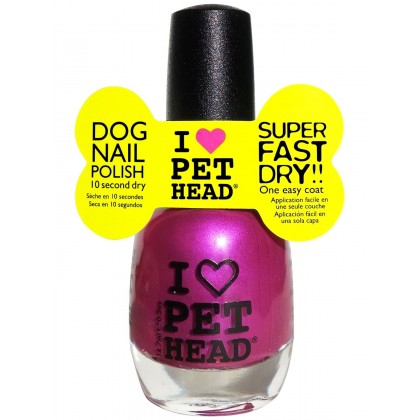 Dog Nail Polish Fun Purple