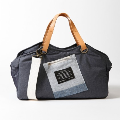 Breezy Tote Bag/Indigo