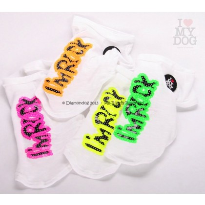 White Fluo Rock T-Shirt
