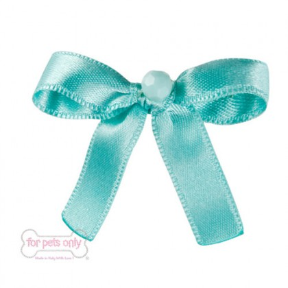 Precious Bow Hairclip - Tiffany