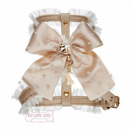 Love Dots Harness - Beige