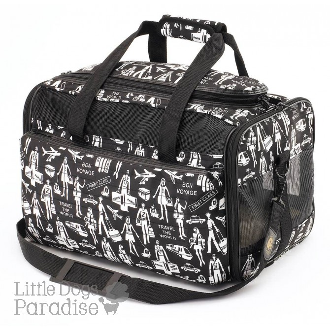 Sherpa Legacy Travel Print Pet Carrier