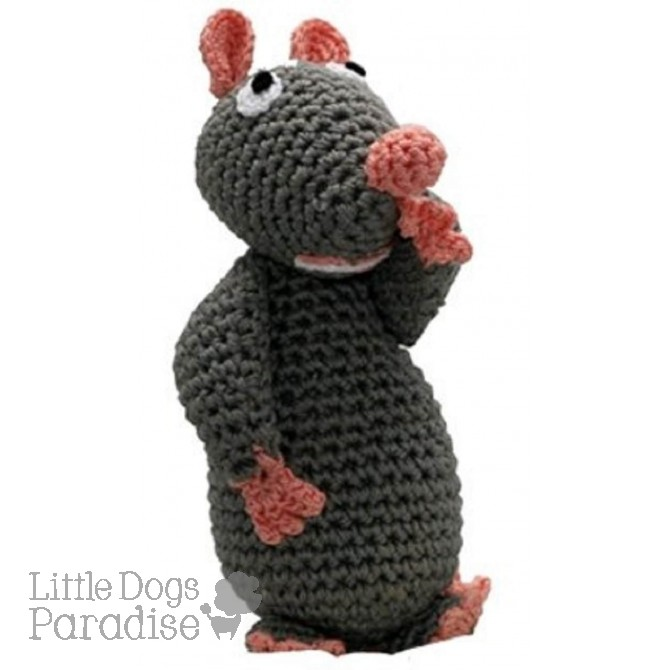 Mouse Organic Cotton Crochet