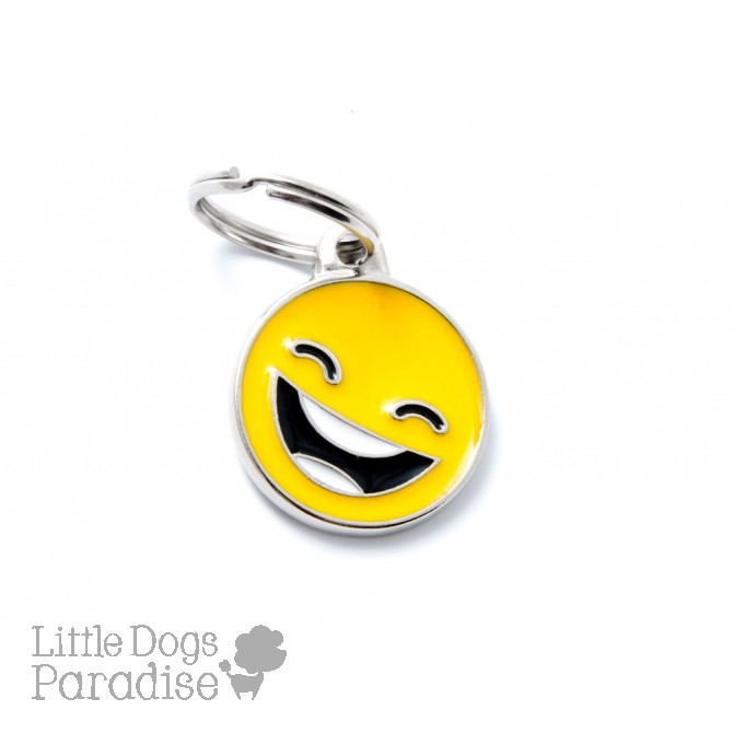 Medaglietta Charms Emoticon Smile