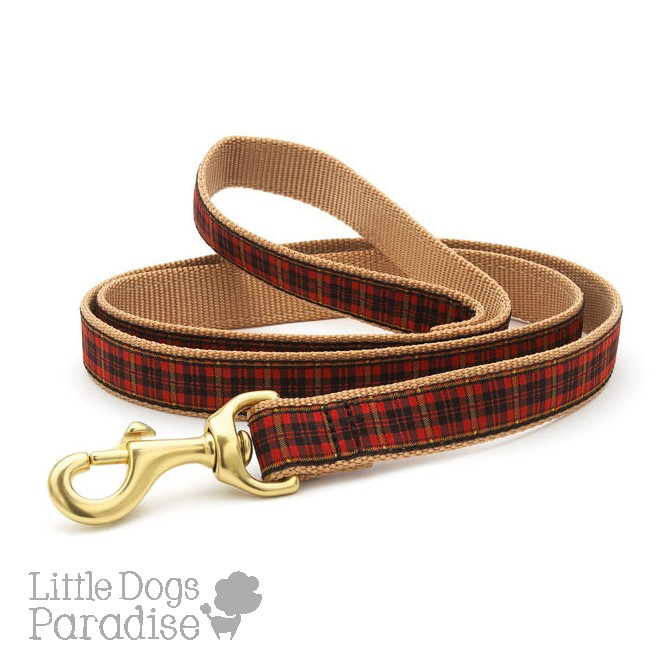 New Red Plaid Lead