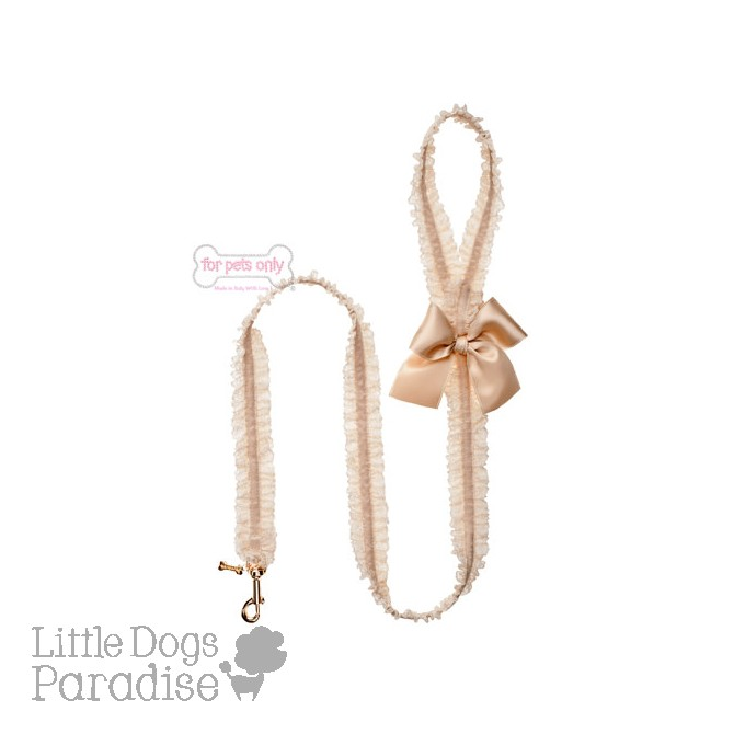 Lingerie Leash Beige