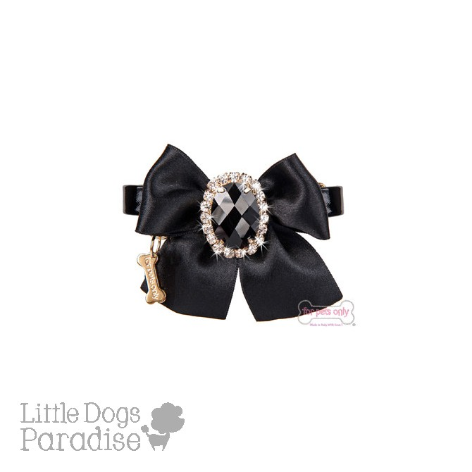 Diamond Love Collar Nero