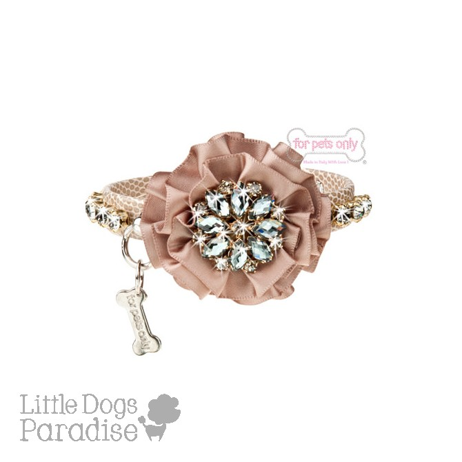 Midnight Flower Collar